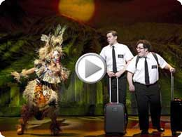 Book Of Mormon On Broadway
