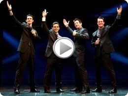 Jersey Boys on Broadway