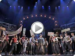 Newsies Musical Chicago